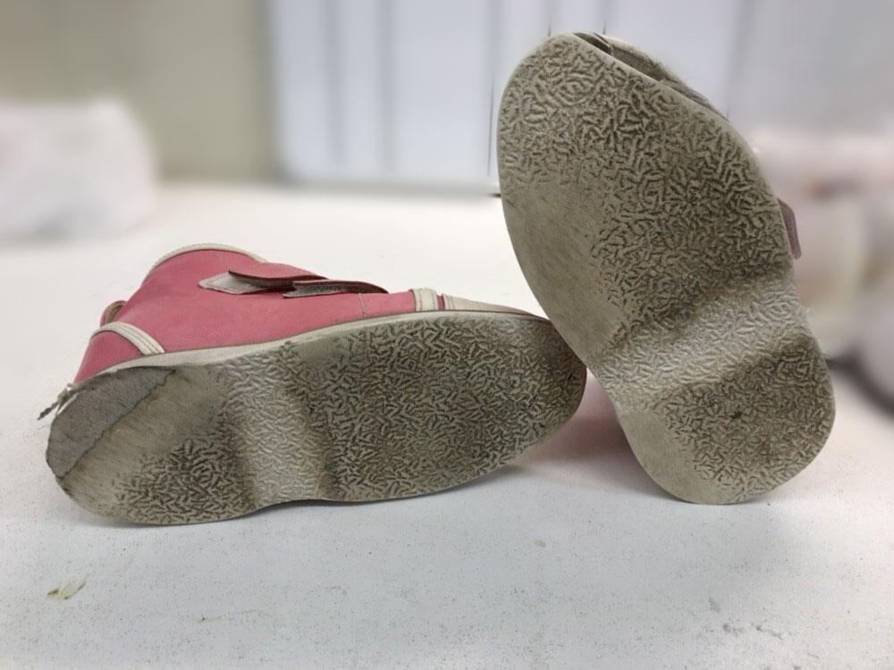 福本義肢製作所 靴底の張替修理